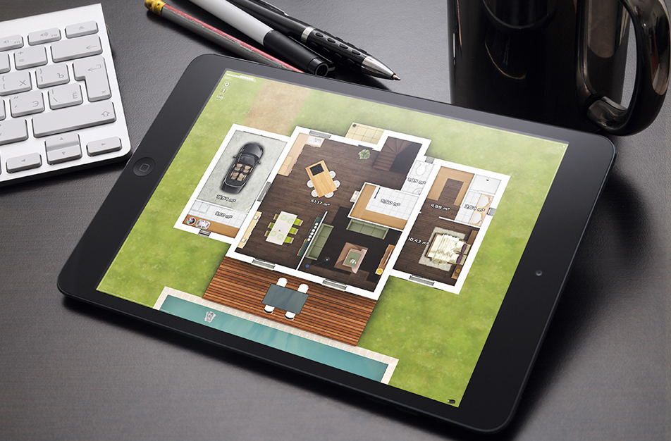 Applications visiolab for Application ipad construction maison